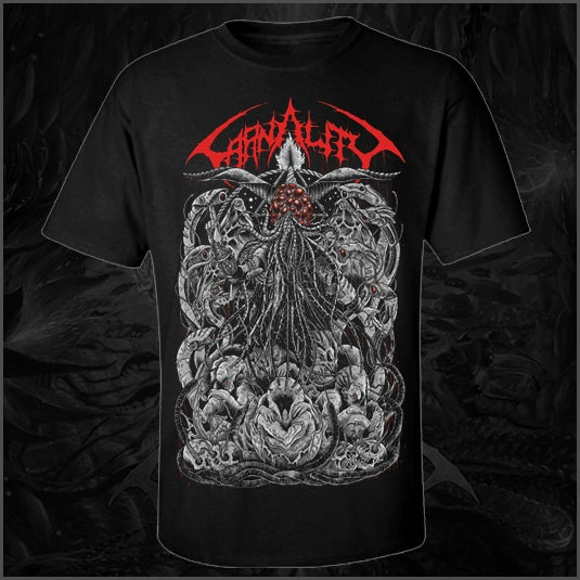 """Image of Carnality """"Lord of Drones"""" T Shirt"""