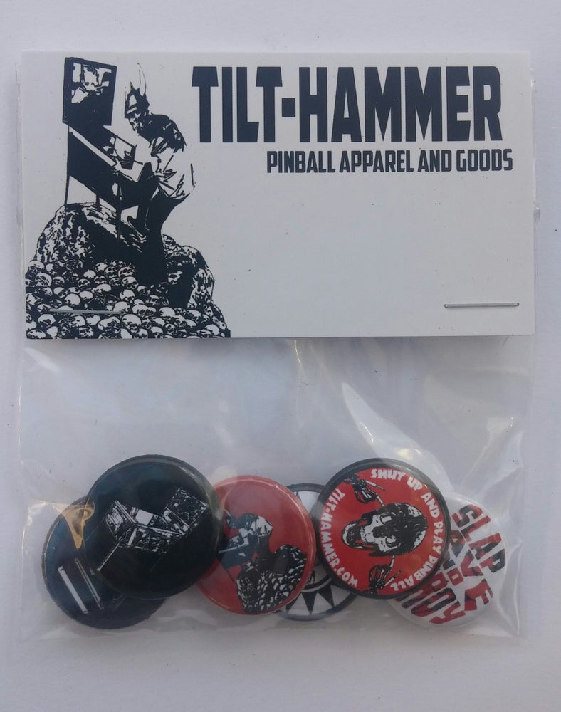 Image of Tilt-Hammer Button Pack
