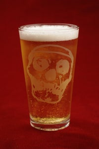 Image of Killogy Logo Skull Pint Glass- AWESOMENESS SALE!
