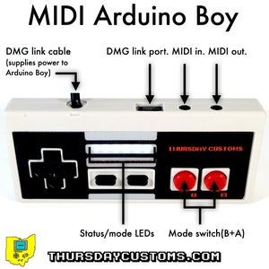 Image of MIDI Arduino Boy