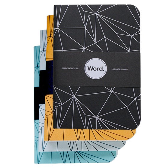 Image of Word. Notebooks - Polygon