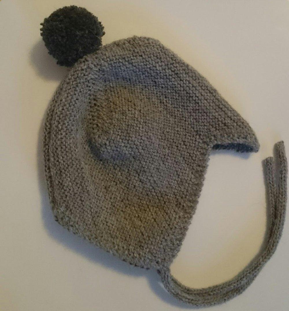 "Image of Nordic Baby Hat ""Pompom"""