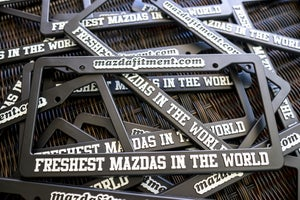 Image of Mazda Fitment License Plate