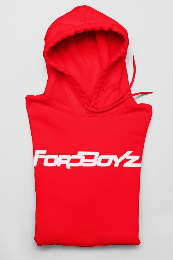 Image of Red Fordboyz Hoodie