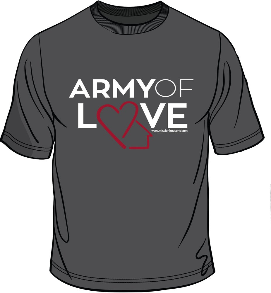 Image of Army of Love T Shirt