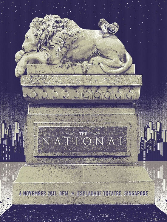 Image of The National - Esplanade Theatre 6 Nov