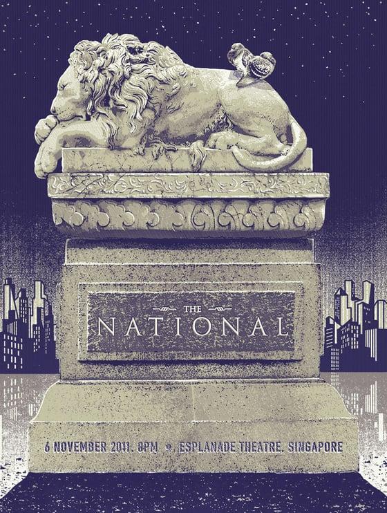 Image of The National - Esplanade Theatre 6 Nov