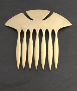 Image of Hair comb art nouveau
