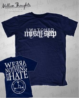Image of Blue Backprint Shirt