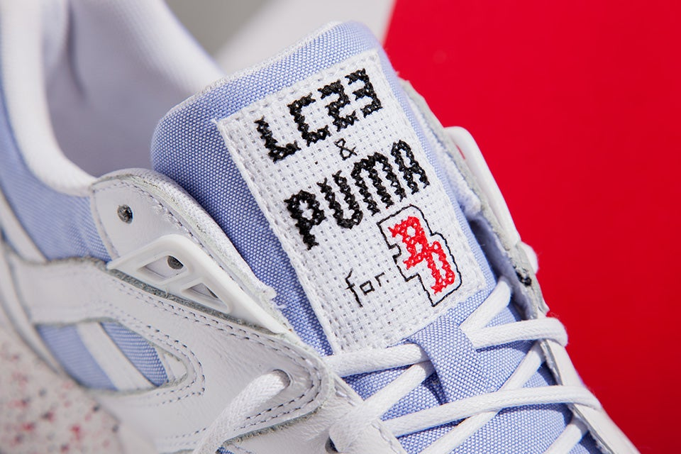 "Image of PUMA R698 X LC23 X BACKDOOR ""MADE IN ITALY"""