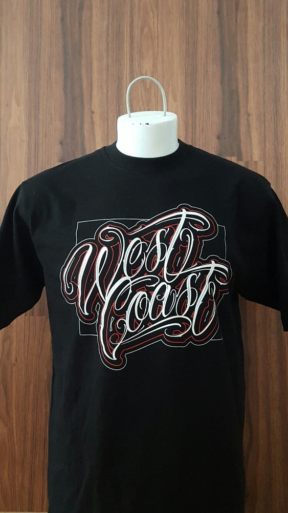 Image of Men's West Coast Crew Neck Tee