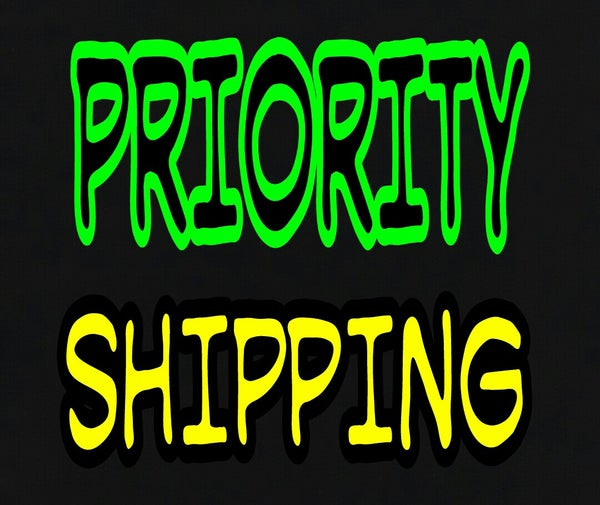 Image of PRIORITY OR  NEXT DAY SHIPPING