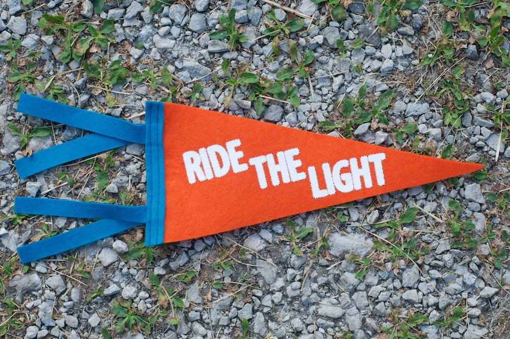 Image of Ride the Light Pennant