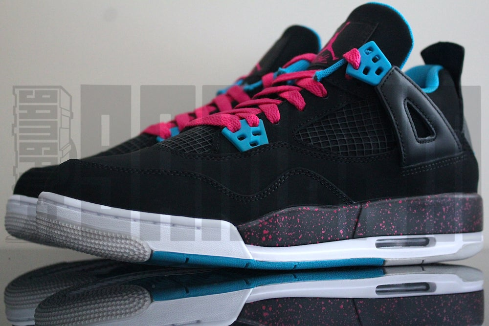 "Image of Nike AIR JORDAN 4 RETRO GS ""VIVID"""