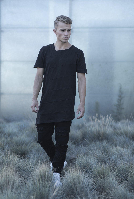 Image of Urban Flavours EDGE tshirt black