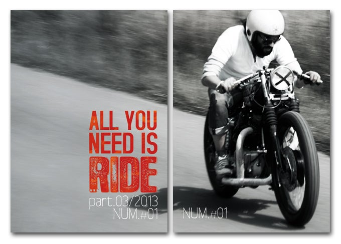 Image of All You Need Is Ride #1