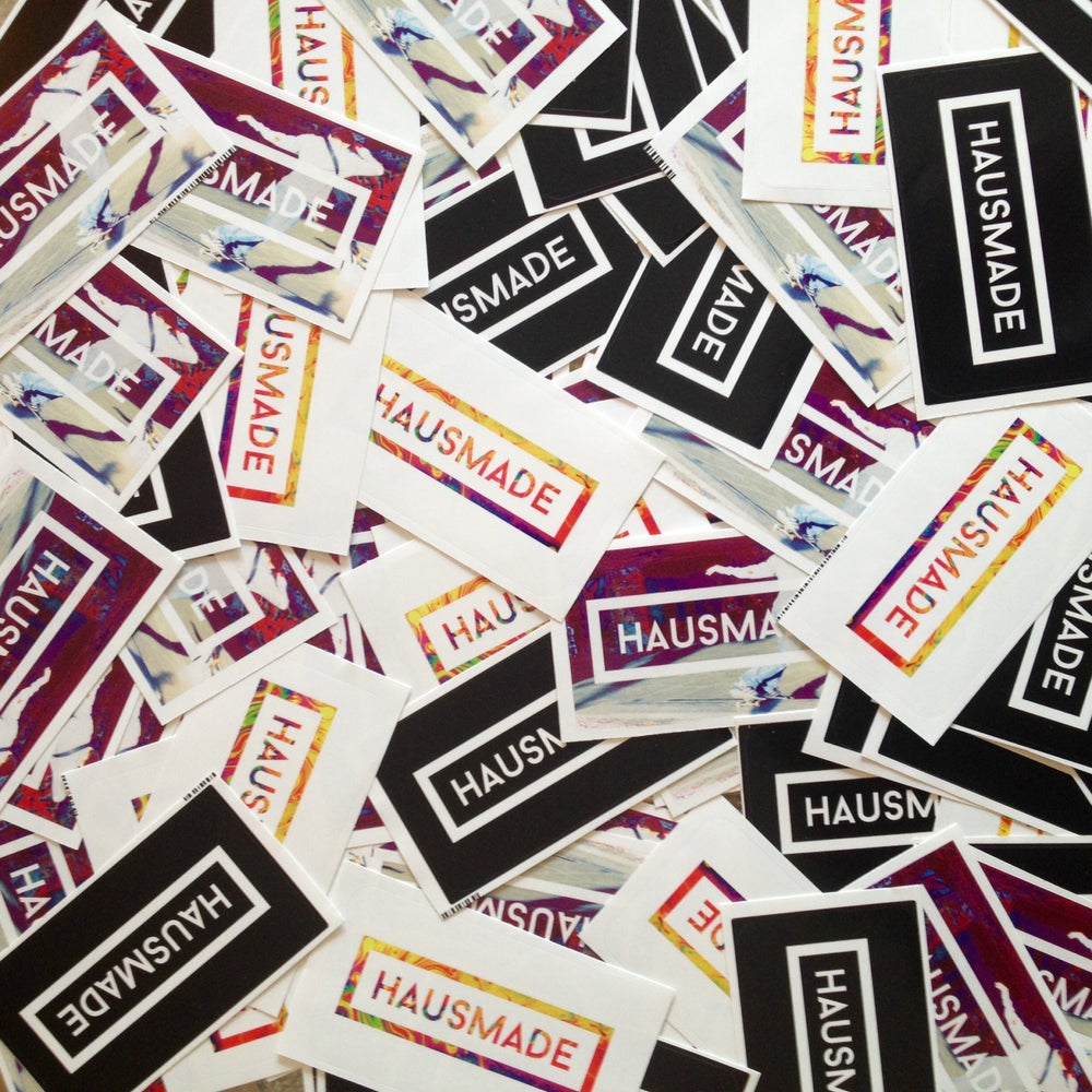Image of HAUSMADE Stickers