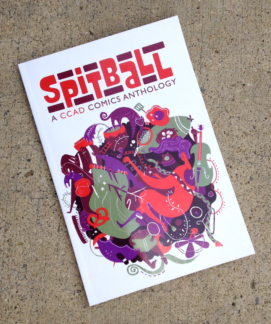 Image of SPITBALL : A CCAD Comics Anthology