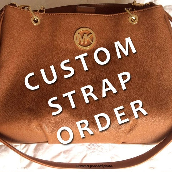 Custom Replacement Straps Handles For Michael Kors Mk Handbags Purses Bags Leather Chain Nylon Canvas Mautto