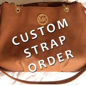 Image of Custom Replacement Straps & Handles for Michael Kors (MK) Handbags/Purses/Bags