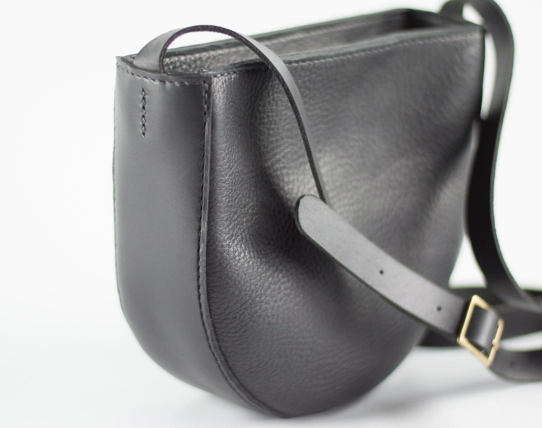 Image of Soft Leather Shoulder Bag