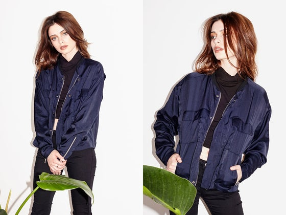 Image of SALE Capulet Navy Bomber Jacket