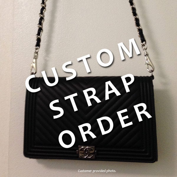 Image of Custom Replacement Straps & Handles for Chanel Handbags/Purses/Bags