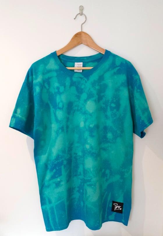 Image of Tie Dye Pro t-shirt | Aqua Marine