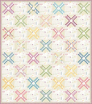 Image of Johnny Jump Up: PDF Quilting Pattern #133