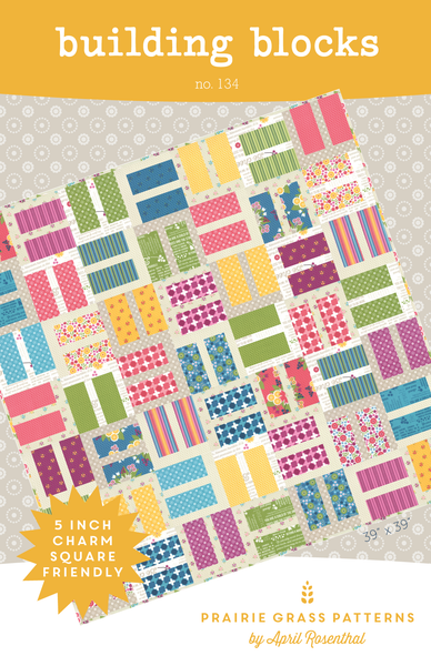 Image of Building Blocks: Quilting Pattern #134
