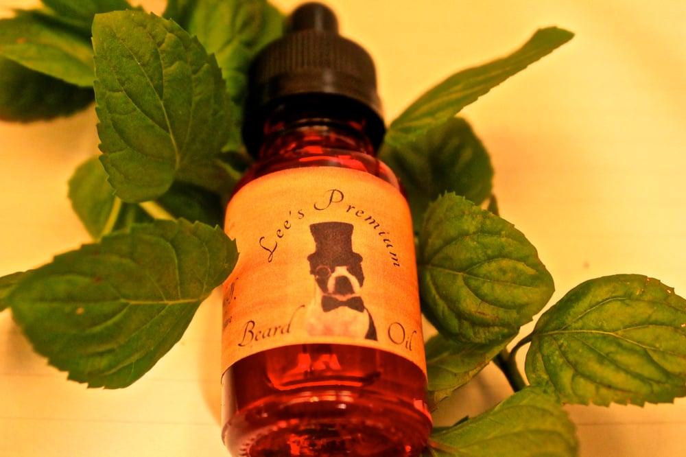 Image of Lee's Premium Beard Oil - Peppermint