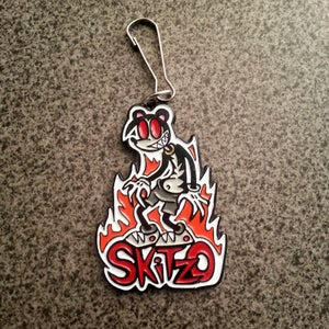 Image of Skitzo The Bear Key Chain