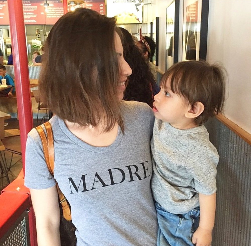 Image of 'MADRE' tee