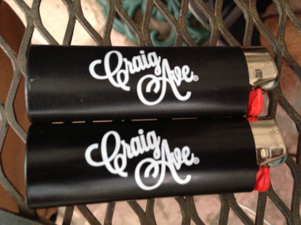 Image of Street Team Lighter in Matte Black
