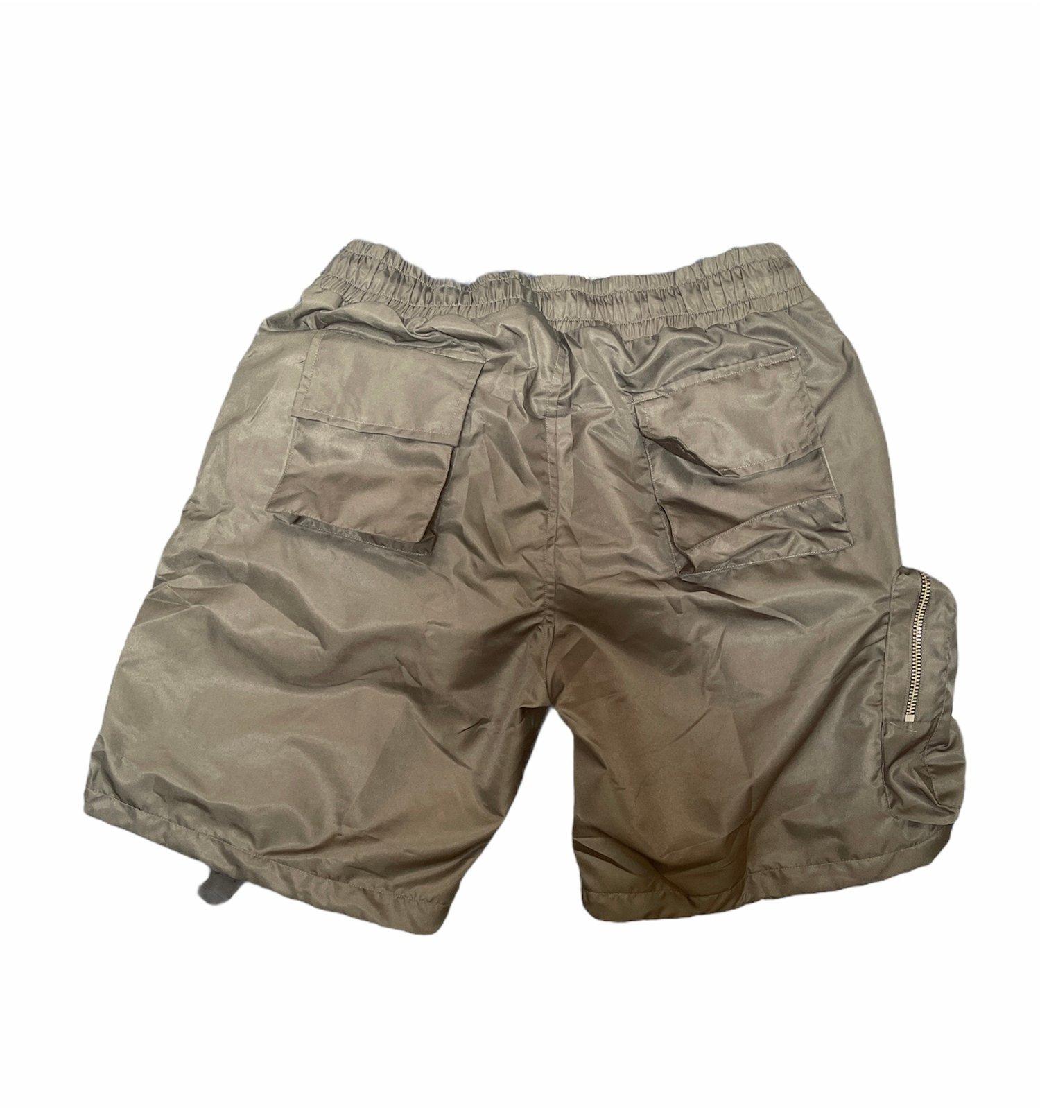 Image of Grey Wave-Tech Shorts