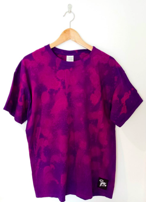 Image of Tie Dye Pro t-shirt | Purple