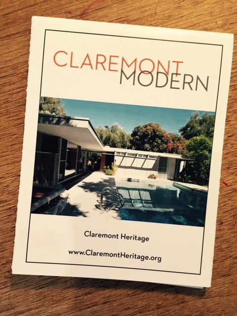 Image of Claremont Modern Map