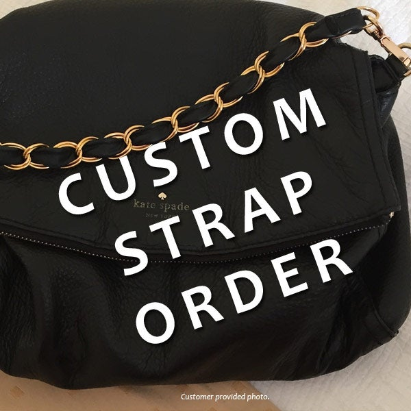 Image Of Custom Replacement Straps For Kate Spade Handbags Purses Bags