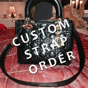 Image of Custom Replacement Straps & Handles for Christian Dior Handbags/Purses/Bags