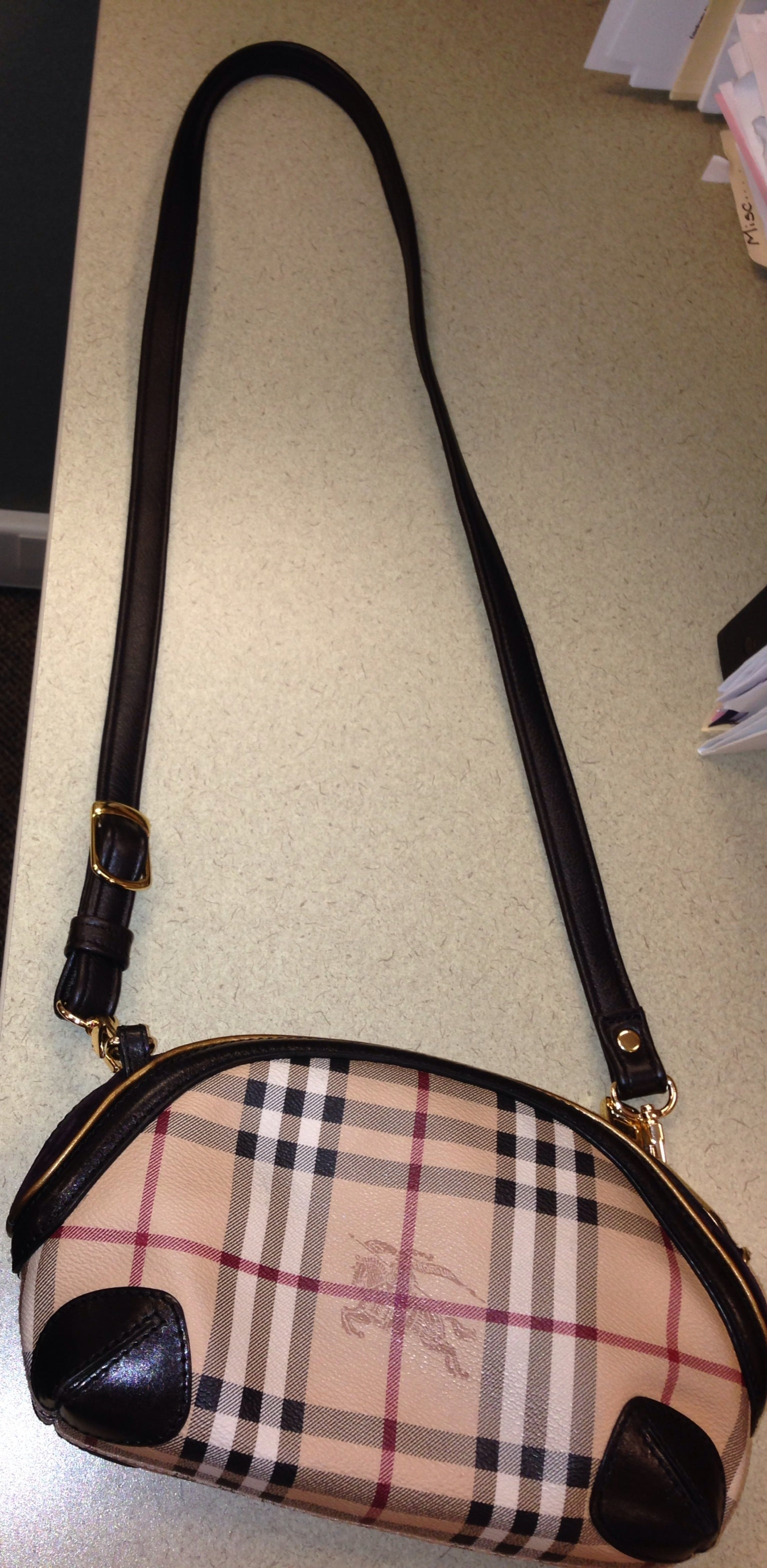 c97660073579 ... Image of Custom Replacement Straps   Handles for Burberry Handbags  Purses  ...