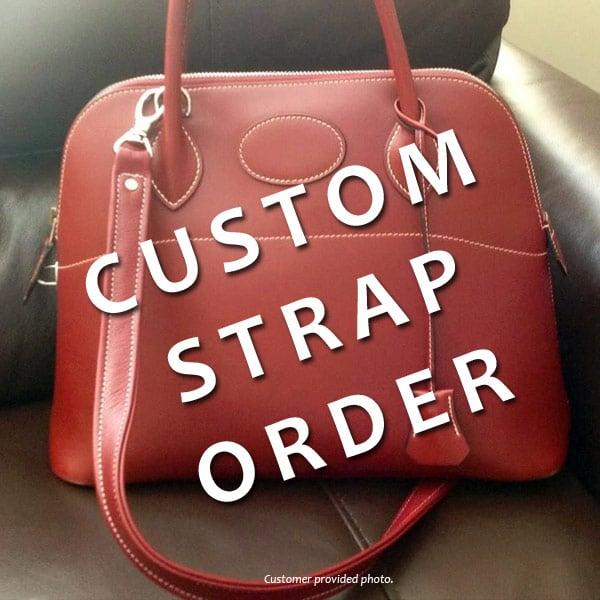 Custom Design Briefcase Strap Replacement