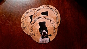 Image of Lee's Premium Beard Products Sticker