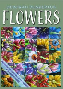 Flower Tutorial - capricorn dancer art glass