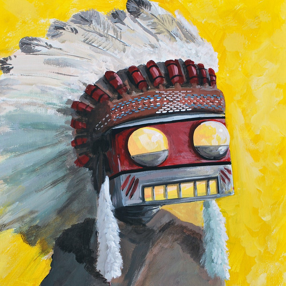 Image of The Big Chief Painting