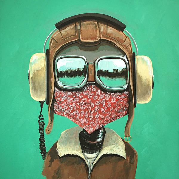 The Pilot - Matt Q. Spangler Illustration