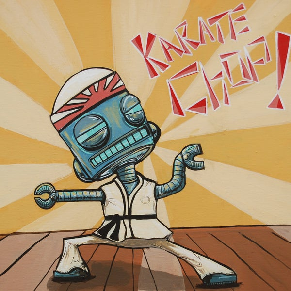 Karate Chop! - Matt Q. Spangler Illustration