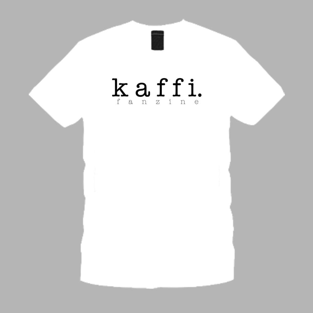Image of kaffi fanzine t-shirt (White)