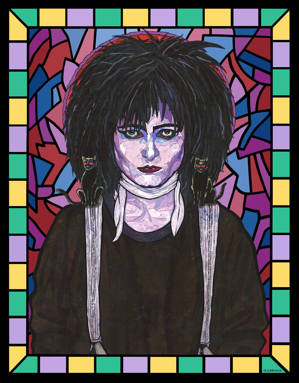 Saint Siouxsie Sioux (Siouxsie and the Banshees)