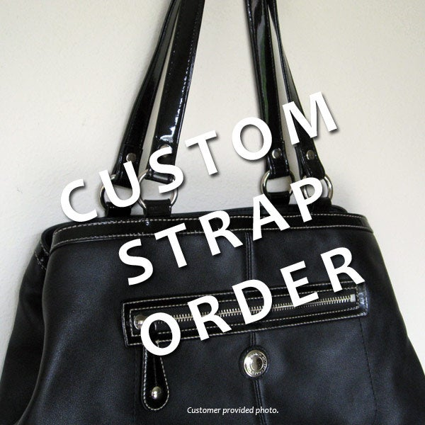 Image of Custom Replacement Straps   Handles for Coach Handbags Purses Bags 783147c08b