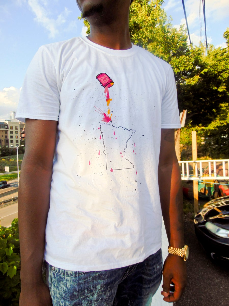 Image of PAINT BUCK MENS TEES